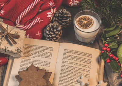 Adventszeit, Licht'le und wilde Binderei